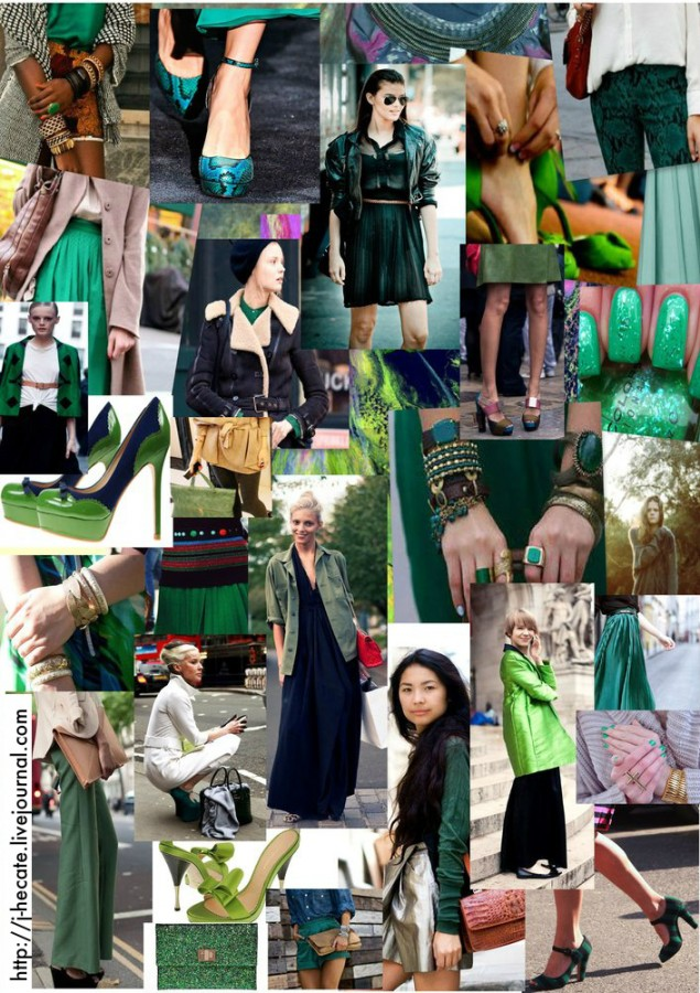 Green-collage 1