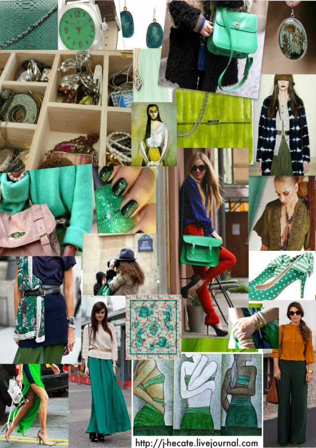Green-collage 2