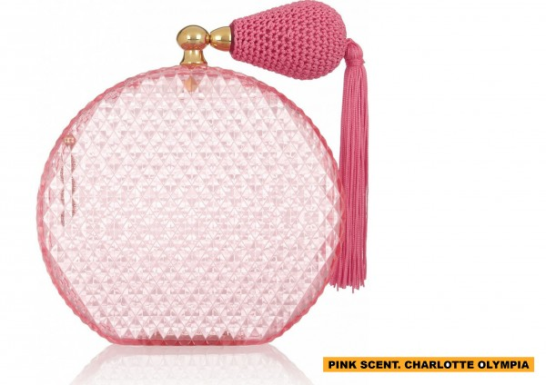 PINK SCENT. CHARLOTTE OLYMPIA