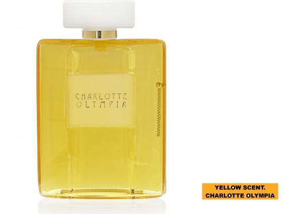 YELLOW SCENT. CHARLOTTE OLYMPIA