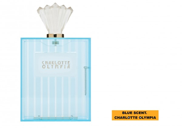 BLUE SCENT. CHARLOTTE OLYMPIA..