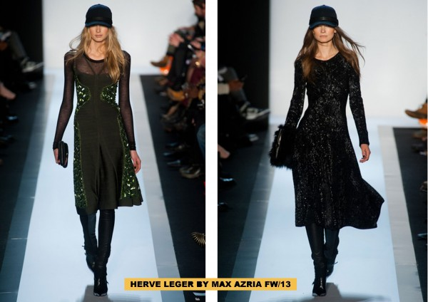 HERVE LEGER BY MAX AZRIA FW13h