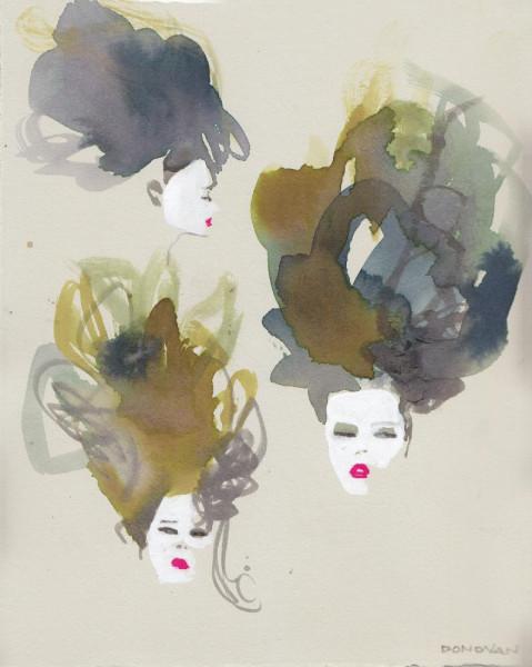 Thom Browne Hair and Makeup
