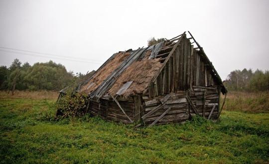 Не губернаторский дом (где-то на просторах Великой России) - то, что осталось в наследство потомкам крестьян