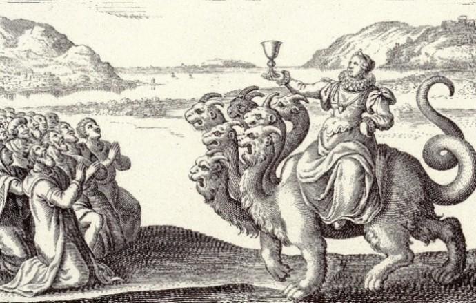 шлюха вавилонская