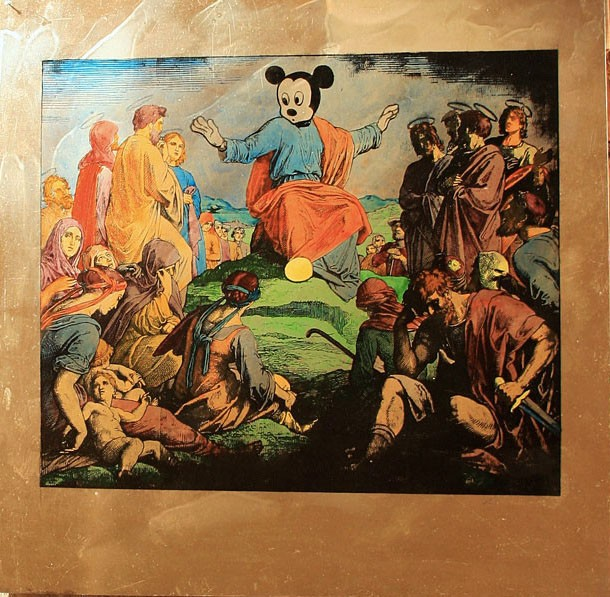 Mickey Mouse as Jesus Christ