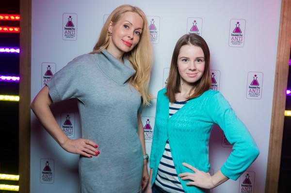Елена Замятина и Катя Караваева_блогеры
