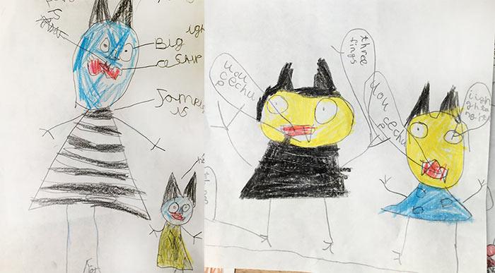 jampires drawings