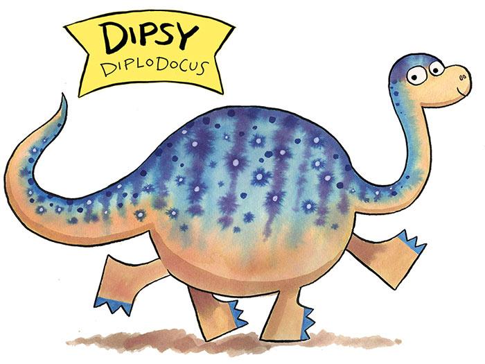 dipsy diplodocus