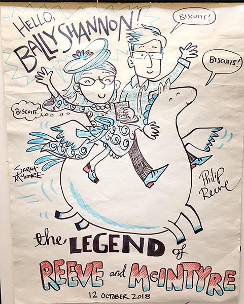 ballyshannon flipchart poster