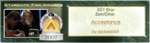 SGFA Banner 2007 Acceptance