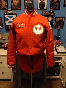 Star Wars Letter Jacket Front