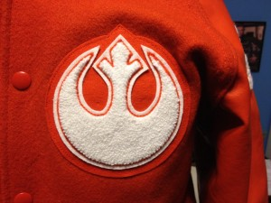Star Wars Letter Jacket Left Chest