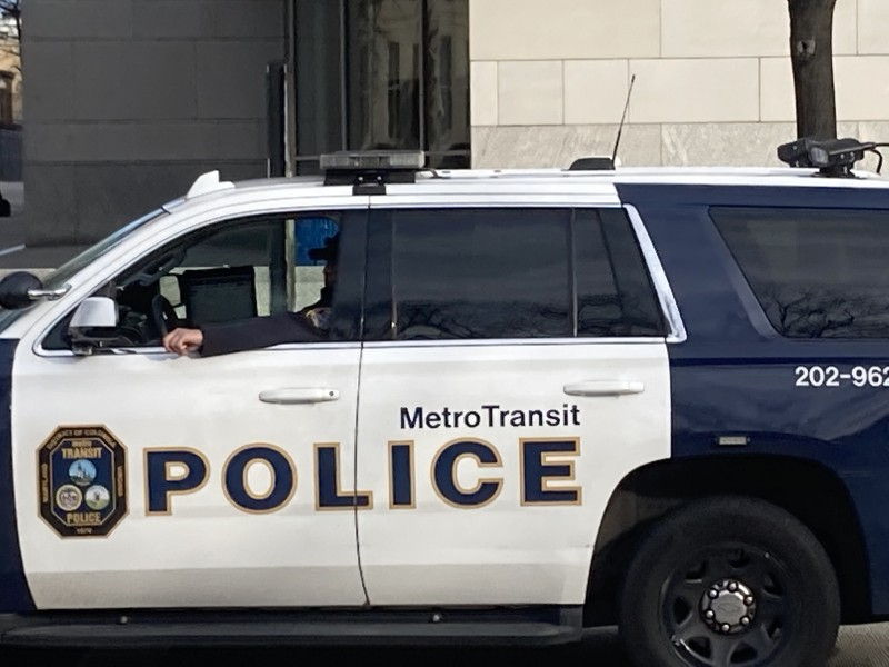 Metro Transit Police, haha.  All hands on deck!  You NEVER see these guys.  Would be nice if they did their regular jobs when the revolution is over.