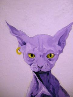 Cheshire Cat/Purple Cat