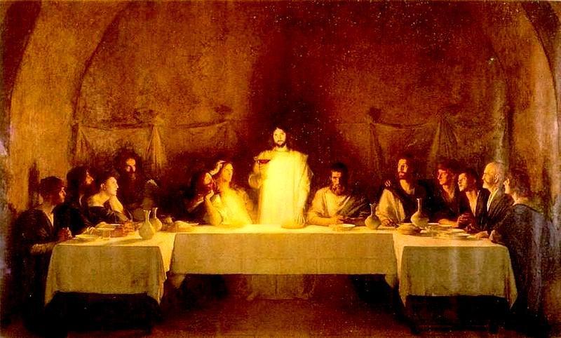 Resultado de imagem para Jesus na santa ceia