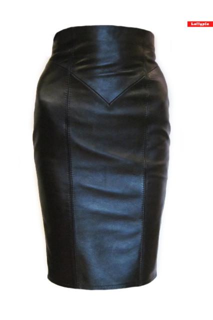 кожаная юбка, юбка из кожи, юбка-футляр, юбка из кожи футляр, юбка