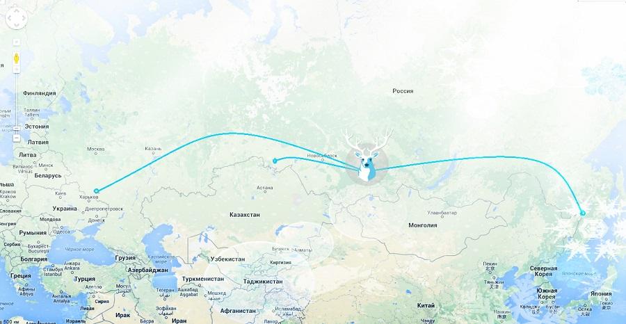 Карта АДМ1