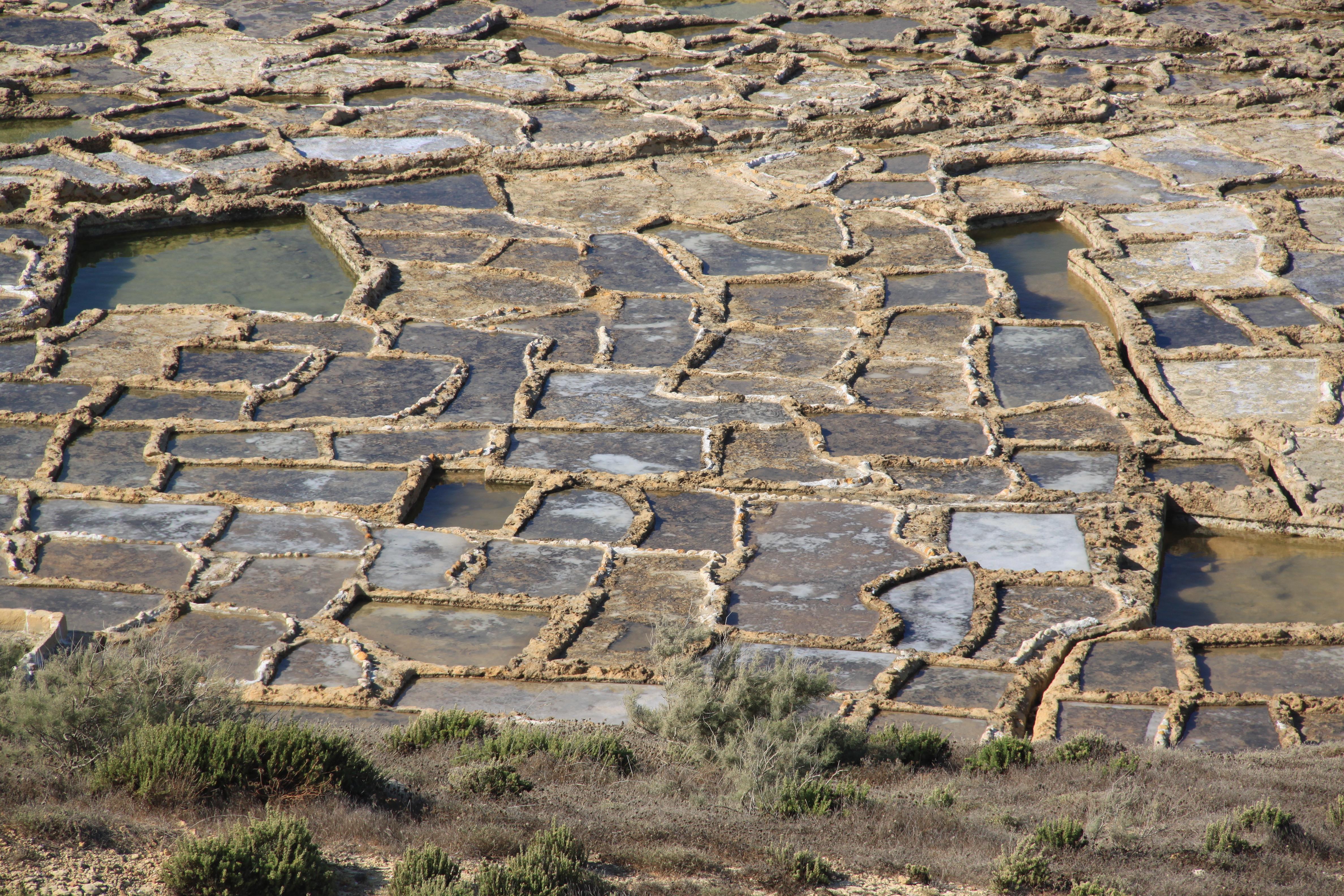 Saltpans on Gozo