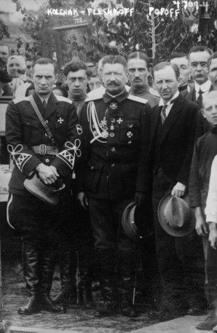 Колчак, 1918 г.