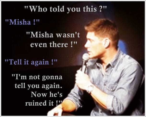COCKLES Ficlet Jensen/Misha Keep it on the pillow
