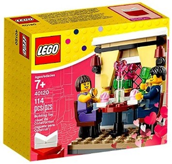 Click here to purchase your Lego Valentine's Day Dinner Set at Amazon!