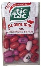 Click here to purchase your Tic Tac Be Mine Mix at Amazon!