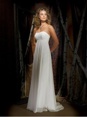 Georgette Bridesmaid Dress