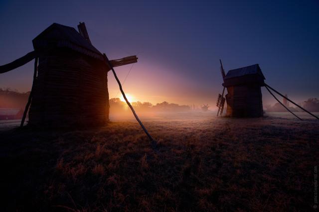 мельницы и ветряки
