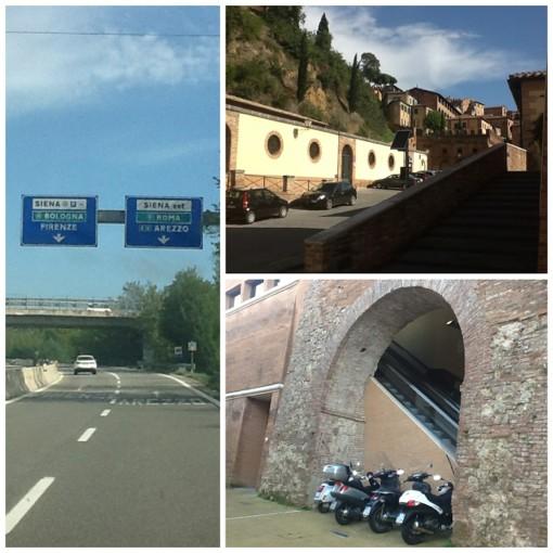 Мы изменили маршрут и направились в Сиену-