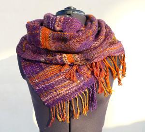 ручное ткачество, прядение, пряжа ручной работы, тканый шарф, евгения боброва, jane_bo
