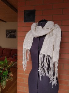 ткачество, арт-пряжа, пряжа ручной работы, ручное ткачество, тканый шарф