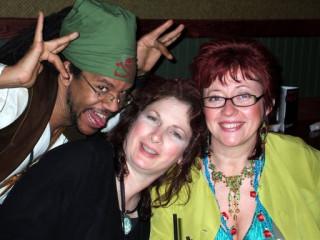 C.J.Randal, me and Linda Ravenscroft