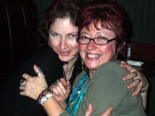 Myself and Linda Ravenscroft