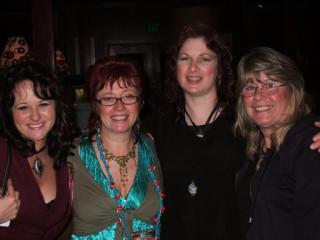 Jessica Galbreth, Linda Ravenscroft, myself and  Annette Coriale