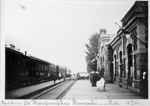 Николай II в Раевке