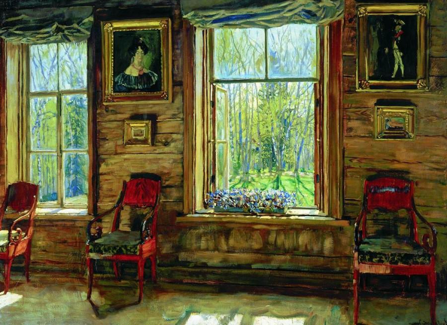 Жуковский Станислав Юлианович. В старом доме. 1912-13