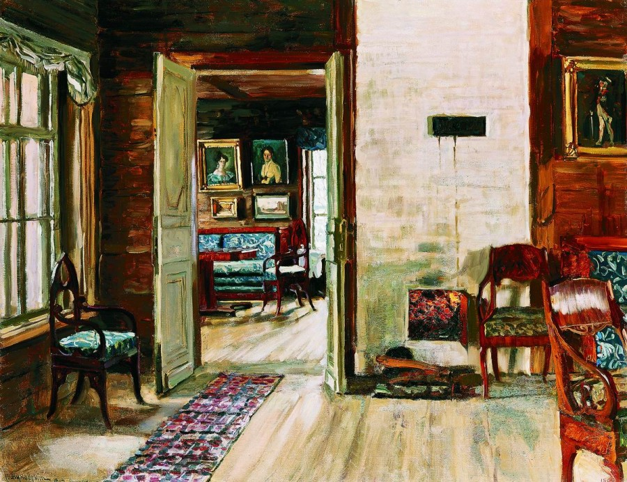 Жуковский Станислав Юлианович. Поэзия старого дворянского дома. 1912