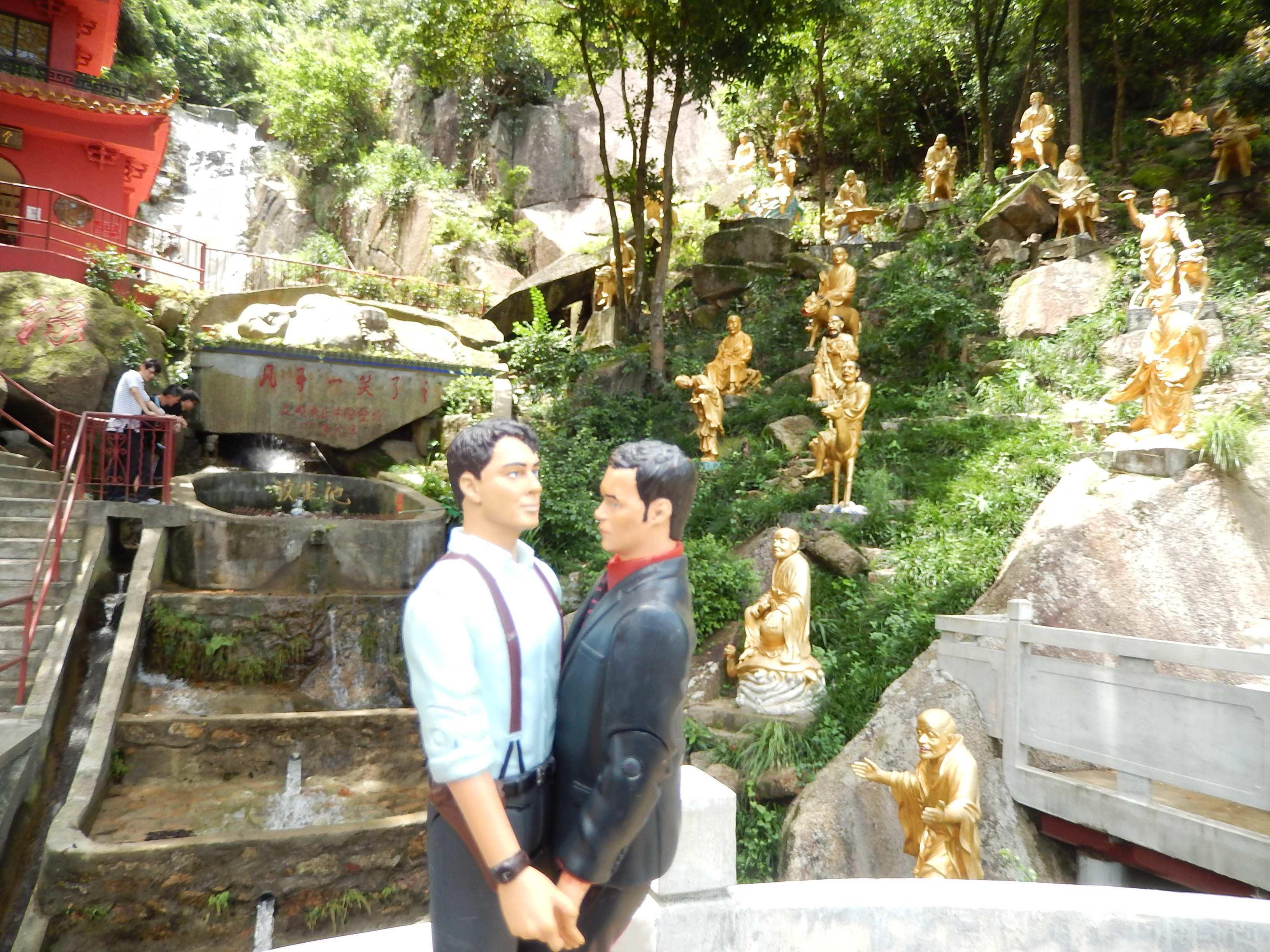 2013.06.26 - 01 - Hong Kong - 10000 Buddha Tempel
