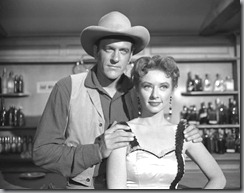 James Arness, in Gunsmoke