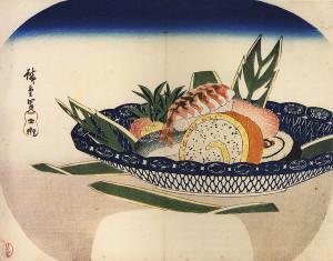 763px-Hiroshige_Bowl_of_SАНДО ХИРОСИГЭ СУШИ