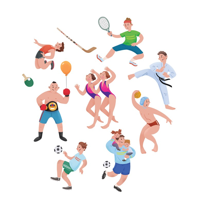 free sports clipart images - 634×640