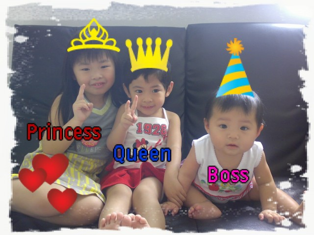 Princess, Queen & Boss