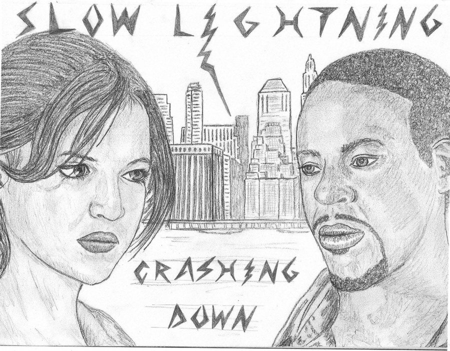 LJ Banner - Slow Lightning Crashing Down cover
