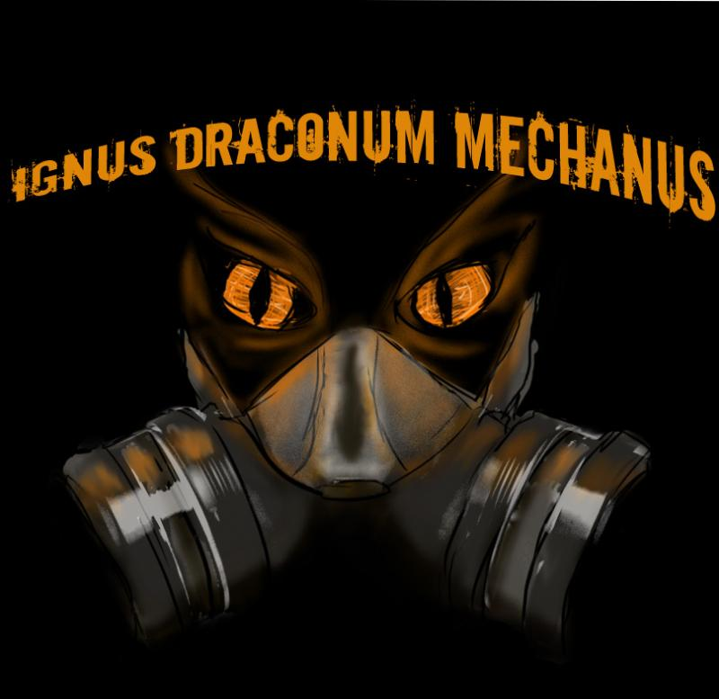 LJ Art - Ignus Draconum Mechanus Title