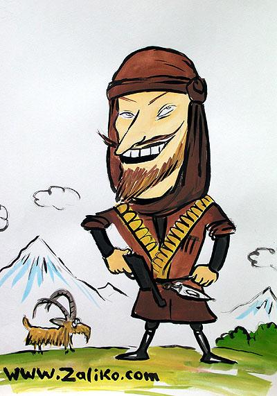 Смешные рисунки грузины