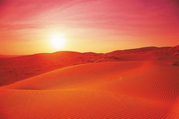 Что происходит с людьми в пустыне? (конкурс 2 билета в Дубай)