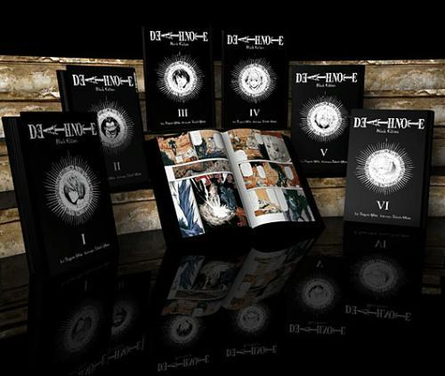 "Death Note Manga volumes ""Black Edition"" - Jayce's Journal"