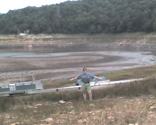 Mountain Lake is a little bit low this year.