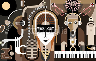 коллаж, музыка, music, art-collage, dan chetverikov